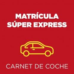 Matrícula Súper Express