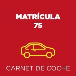 Matrícula 75